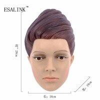 Modny PVC Kobiecej Głowy Plastikowe Piękne Kobiety manekin Manekin Model Głowy