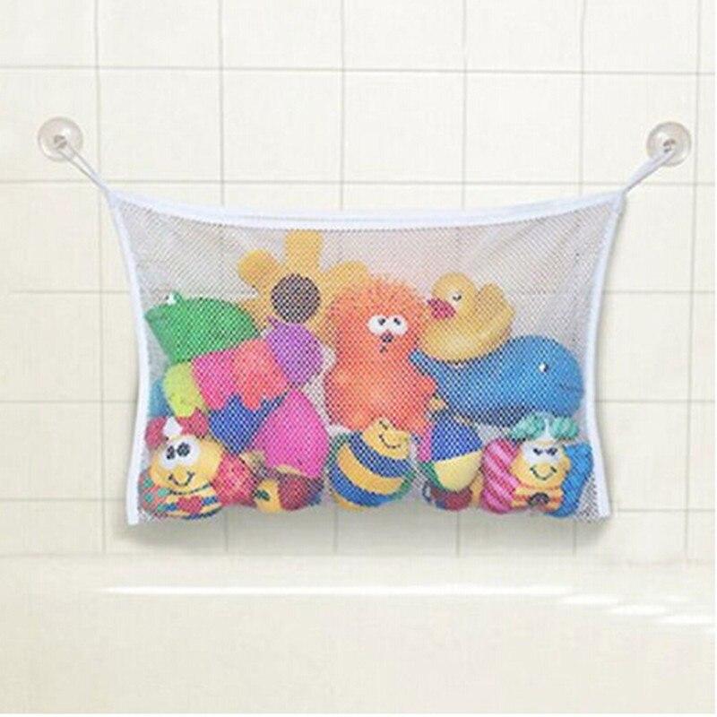 Игрушки для маленьких детей чехол Ванная комната сетки Сумки для хранения без каблука Тип сжатого мешок за Дверные рамы/на стенах с супер пр...