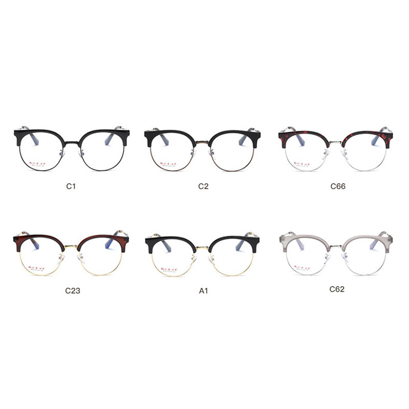 Image 4 - Handoer 6610 Optical Glasses Frame for Men and Women Alloy Eyewear Full Rim Alloy Spectacles Glasses Optical Prescription Frame-in Men's Eyewear Frames from Apparel Accessories