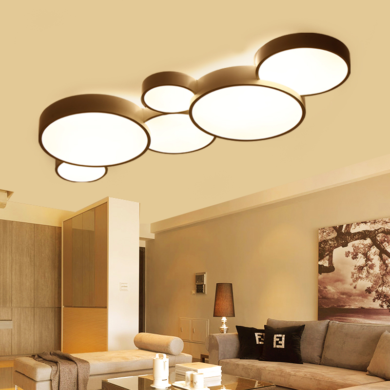 2017 Led Ceiling Lights For Home Dimming Living Room Bedroom Light FIxtures  Modern Ceiling Lamp Luminaire Lustre In Ceiling Lights From Lights U0026  Lighting On ...