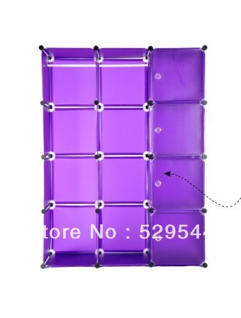 On Sale (1set/lots) Simple DIY Wardrobe Reinforce the folding closet Wholesale and Retail