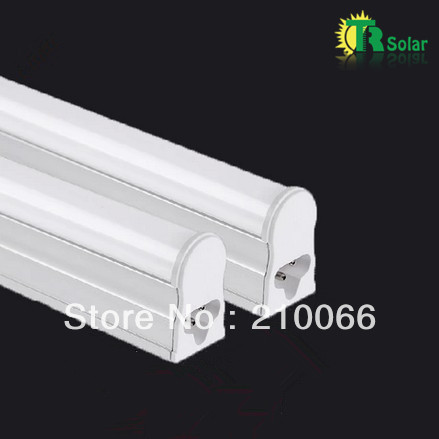 T5 LED tube 7W 0.6m T5 led  3014SMD(Pure white+Milky Cover)CE Rohs certificate lamp led lights smd  4pcs/lot Free shipping