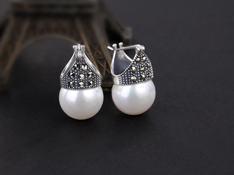 HTB1J8.EKkvoK1RjSZPfq6xPKFXa7 - Lotus Fun Real 925 Sterling Silver Natural Mother of Pearl Earrings Fine Jewelry Vintage Fashion Drop Earrings for Women Brincos