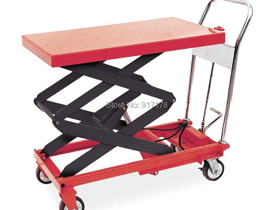 1000 kg scissor lift table cart  цены