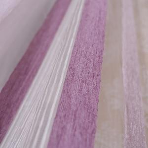 Image 3 - Rideaux Rome de qualité, rideaux, écrans verticaux, chambre de salon, rayures argentées, écrans argentés, rideaux jacquard teints en fil