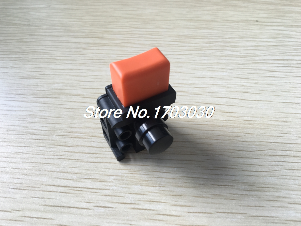 Self Locking 4 Terminals DPST NO+NC Electric Power Tool Switch AC 250V 6A 660v ui 10a ith 8 terminals rotary cam universal changeover combination switch