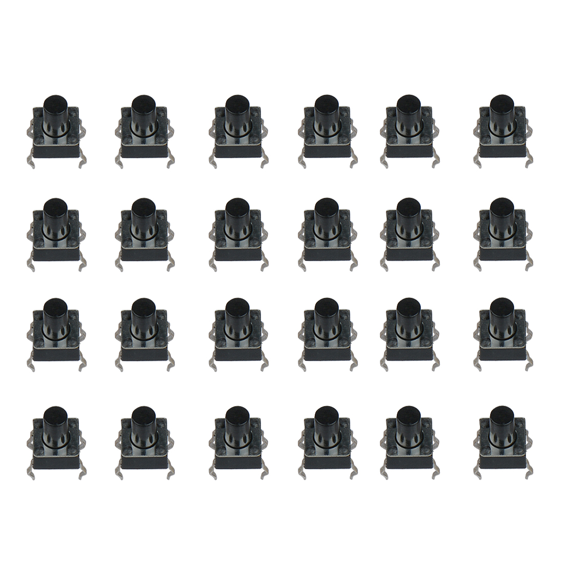 100pcs 6x6x5mm Light Touch Switch Dip4 On Off Touch Button