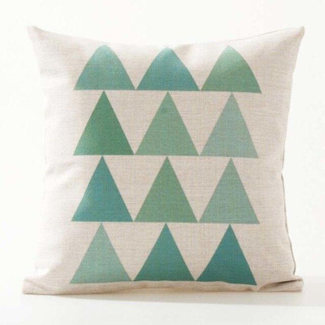 Nordic Geometric Decorative Pillowcase Size: 45CM WT0042 Color: 4