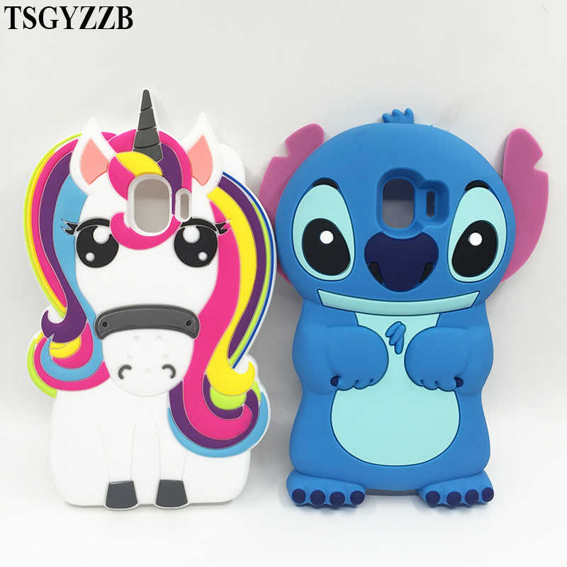 For Samsung Galaxy J2 Pro 2018 Case Soft Silicone 3d Cute Stitch Cat Unicorn Cover For Samsung J2 Pro 2018 Case Protective Cases Aliexpress