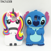 цена на For Samsung Galaxy J2 Pro 2018 Case Soft Silicone 3D Cute Stitch Cat Unicorn Cover For Samsung J2 Pro 2018 Case Protective Cases