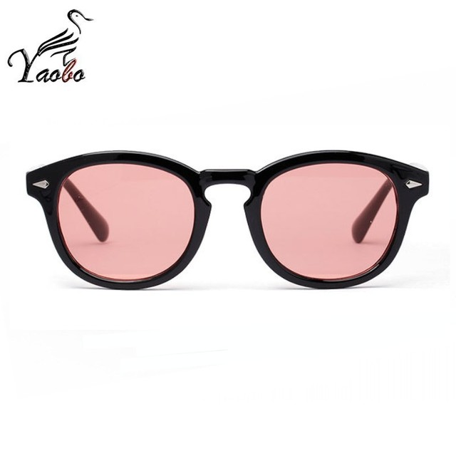 Vintage Sunglasses Tinted Lens Fashion Men Frame Retro Clear Glasses Johnny Depp