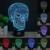 HUI YUAN 3D Visual Led Luces de La Noche para Los Niños Fantasma y MartianTouch USB Lampara de Mesa ya que Además de Lampe de Dormir Del Bebé Nightlight