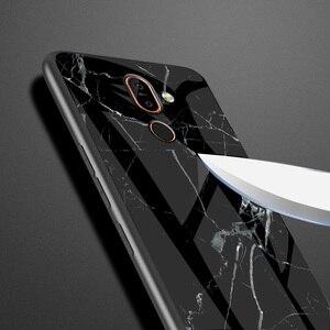 Image 4 - Cao Cấp Đá Cẩm Thạch Kính Cường Lực Điện Thoại Dành Cho Nokia X6 X7 X71 Cứng Nhám Giành Cho Nokia 7.1 7 1 4.2 3.1 plus Coque Silicone Capa