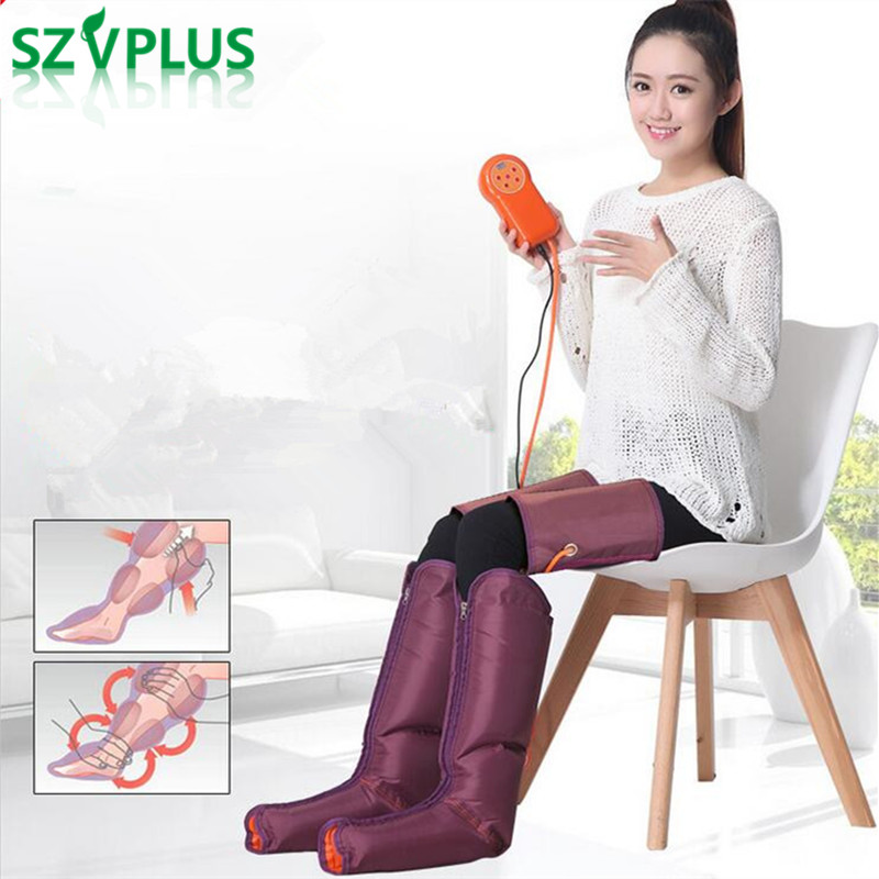 Air Compression Leg Wraps Regular Massager arm waist Foot Ankles Calf Therapy Circulation Healthcare Compression leg