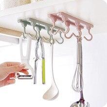 Armario de cocina, armario de 6 ganchos, organizador para el hogar, despensa, herramientas para el pecho, toallas, cocina, armario de colgar, estante de almacenamiento para ropa