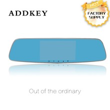 "ADDKEY AK-D032 5.0 "" Car DVRs Full HD 1080P Dual Lens Rear view camera chip 140 degree wide angle Night Vision Auto lock camera"