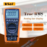 VICI VC87 True RMS Digital Multimeter Auto/manual range DCV ACV DCA ACA DMM Frequency Capacitance Temperature & hFE Tester