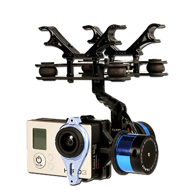 Tarot T-2D Brushless Gimbal Gopro 3 Aerial Photography TL68A08 Brushless Camera Gimbal upgrade debugging edition jiyi fpv g3 3d 3 axis gimbal for gopro hero3 3 hero4 aerial photography