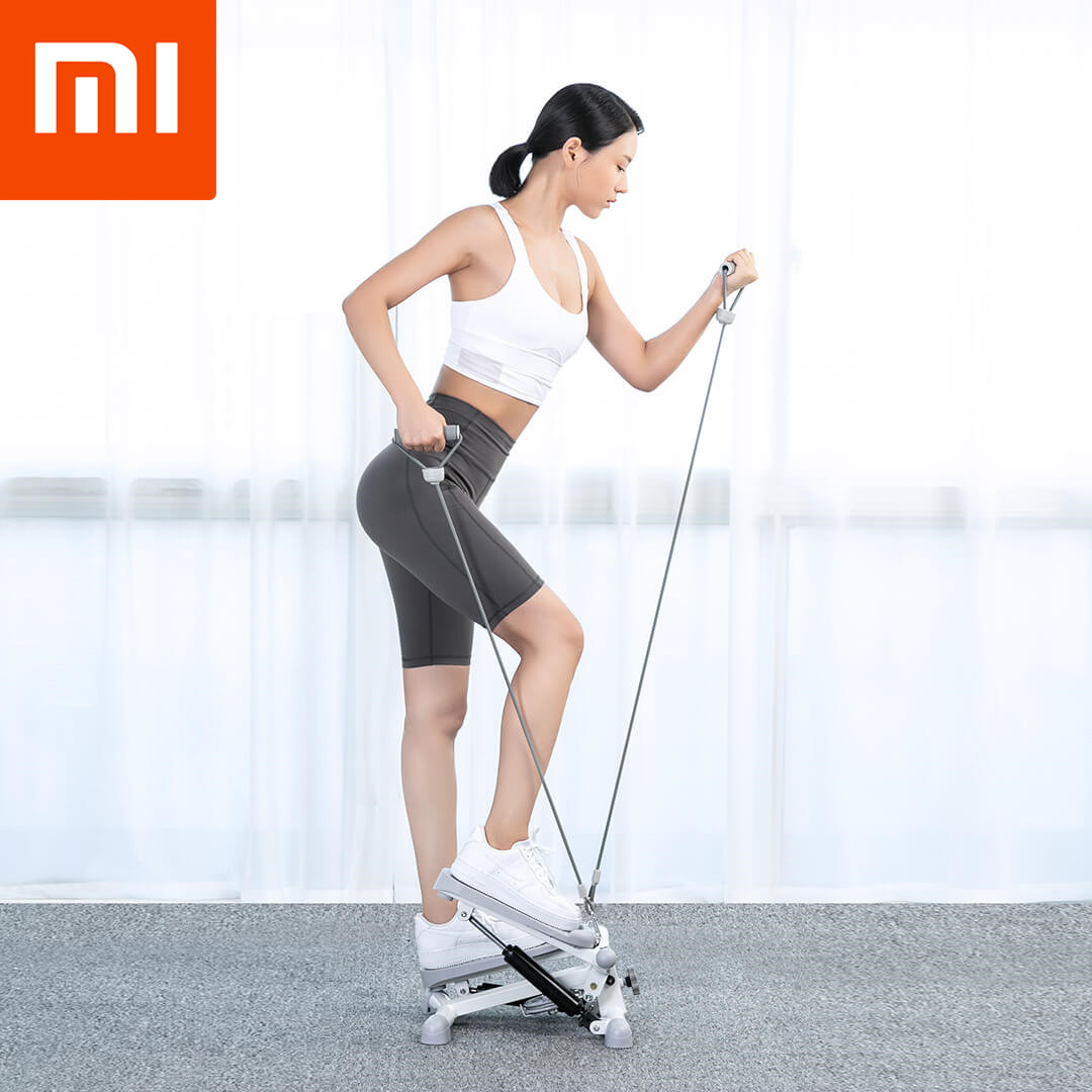 Xiaomi Xqiao Mini Multifunction Treadmills Home Weight Loss Pedal Fitness Equipment Steppers Sports Leg Waist Beauty Slimming