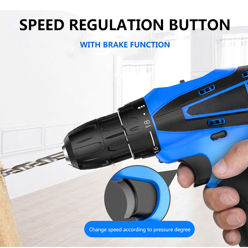Image 5 - PRACMANU 12V cordless screwdriver Drill Electric Drill  mini cordless electric screwdriver power tool cordless drill-in Electric Drills from Tools