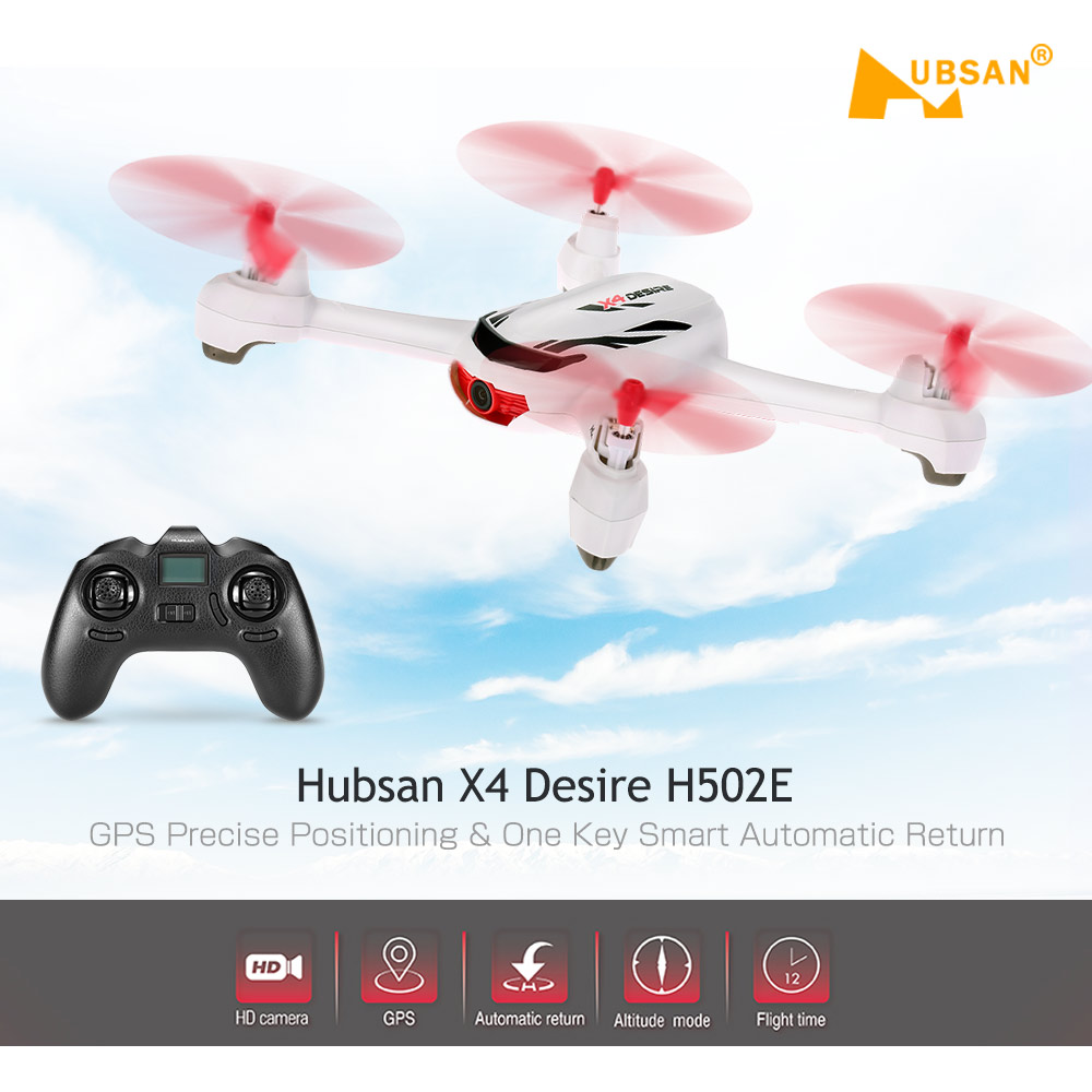 Hubsan X4 H502E With 720P HD Camera GPS Altitude Mode RC Qua