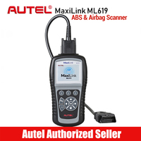 AUTEL MaxiLink ML619 OBD2 Scanner ABS SRS Diagnostics Scanner Car Diagnostic Tool OBD 2 Code Reader Airbag Scan Tools VS AL619