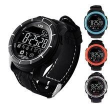 Gzdl UU Спорт Смарт часы цифровой электроники часы Bluetooth спортивный браслет часы Шагомер активность трекер WT8110