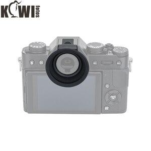 Image 4 - Soft Silicon Camera Eyecup Eyepiece Viewfinder Via Hot Shoe Eye Cup For Fujifilm X T20 X T10 X T30 Fuji XT20 XT10 XT30 Eyeshade