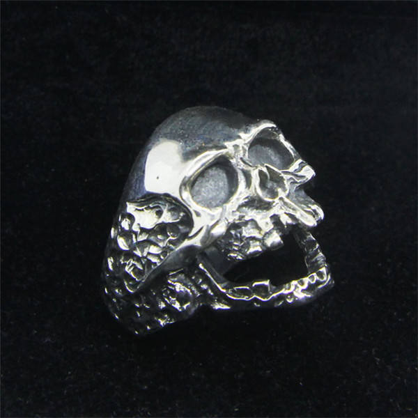 ORIGINAL 925 STERLING SILVER GHOST SKULL RINGS