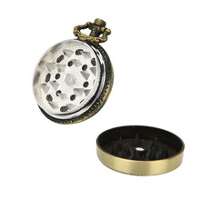 Eagle Pocket watch Weed Herb Grinder