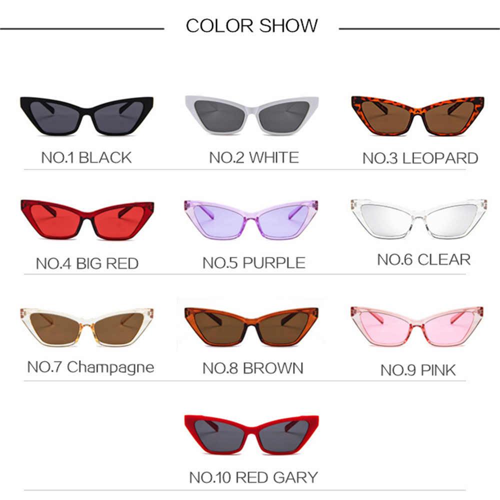 e1eab4edd5 ... YOOSKE Trend Cat Eye Sunglasses Women 2018 Brand Retro Sun glasses  Ladies Fashion Cateyes Sunglass Female