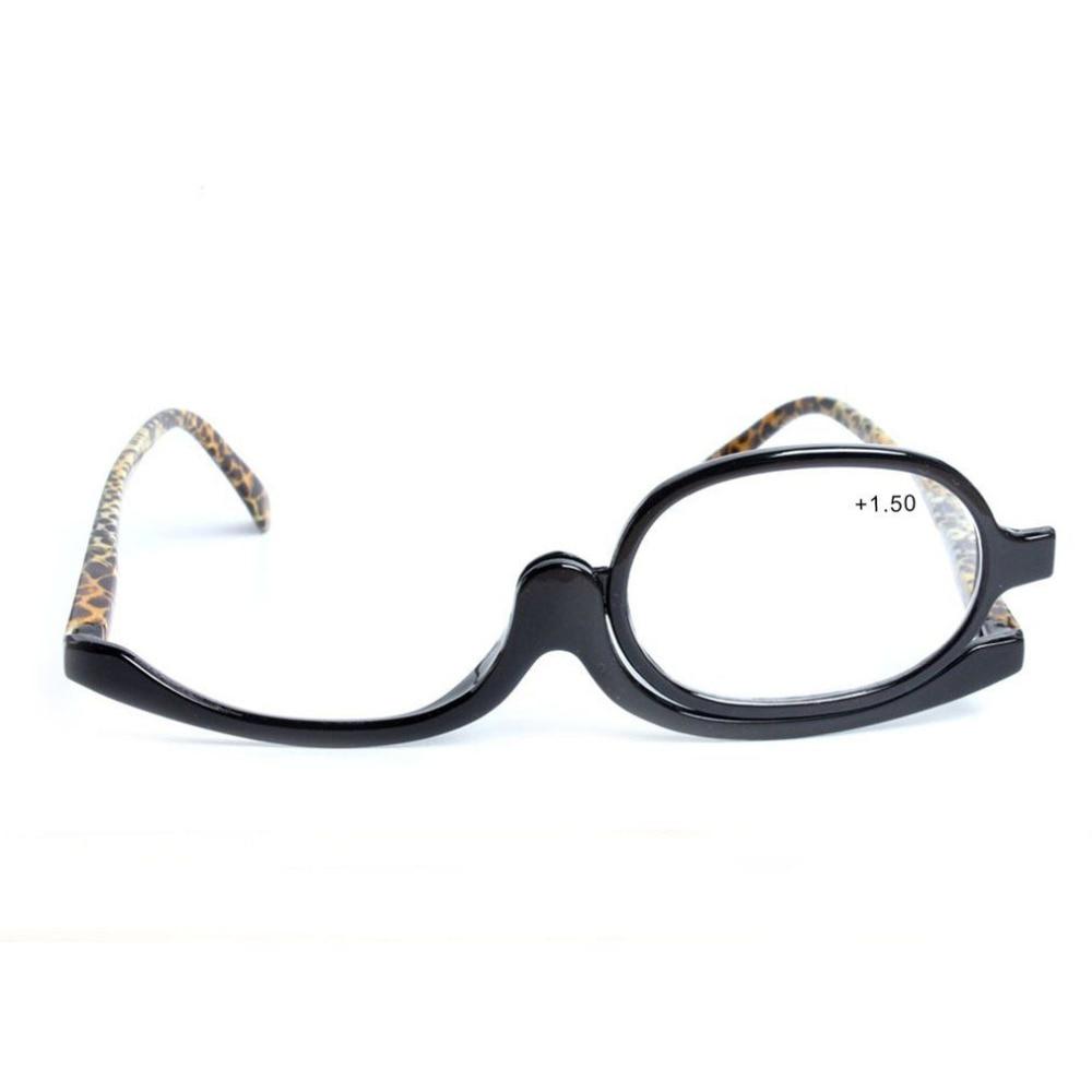 180 Graus de Rotação Monocular Óculos Dos Homens Das Mulheres Cosméticos Maquiagem  Óculos de Leitura de Dioptria Para Fêmeas óculos de Leitura + 1.50 + 3.00  ... 1be2d6971a