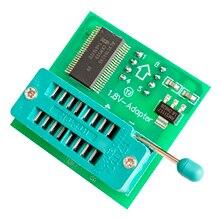 Adaptador de 1,8 V para Iphone o placa base 1,8 V SPI Flash SOP8 DIP8 W25 MX25 uso en programadores TL866CS TL866A EZP2010 EZP2013 CH341