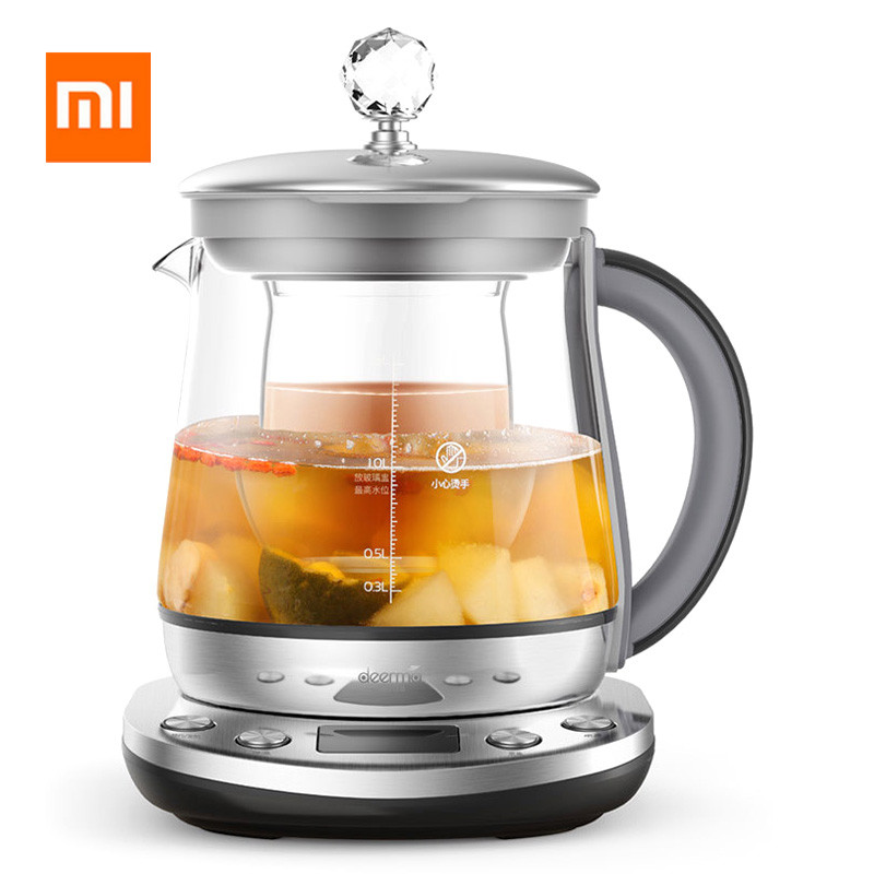 Xiaomi Deerma DEM-YS802 1.5L Multifunction Stainless Steel Electric Health Pot Kettle from Xiaomi Youpin deerma dem f625 увлажнитель воздуха 6l белый