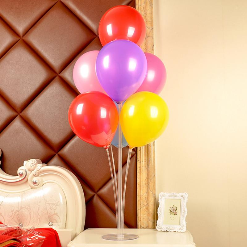 Balloon Stick DIY Wedding Decoration Latex Balloons Table Floating the Balloon <font><b>Supporting</b></font> Rod Balloon Holder image