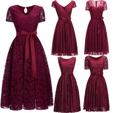 8228100ad44a5 Popular Red Wine Cocktail Dress-Buy Cheap Red Wine Cocktail Dress ...