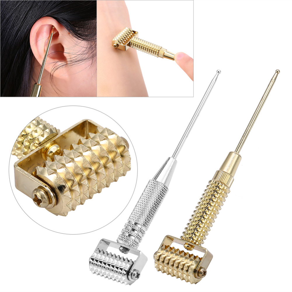 все цены на Face Ear Acupuncture Points Detector Needle Roller Massage Ear Press Seeds Acupoint Plaster Ear Acupoints Spring Needle Massager онлайн