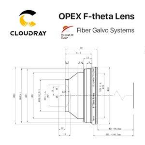 Image 5 - F theta Lens Field Lens 1064nm 70x70 300x300mm F100 420nm for 1064nm YAG Optical Fiber Laser Marking Machine Parts