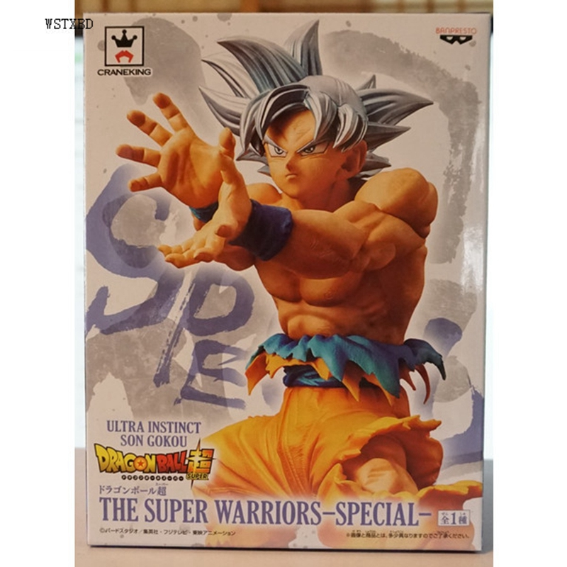 WSTXBD BANPRESTO Dragon Ball Z DBZ DXF Goku UI Ultra Instinct PVC Figure Toys Figurals Model Dolls