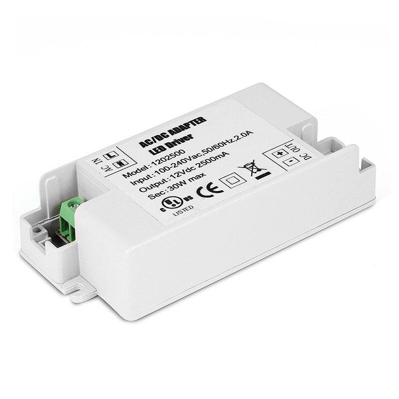 цена на 30W LED Driver Transformer 240V AC to 12V DC for Strip G4 MR11 MR16 Bulb Light