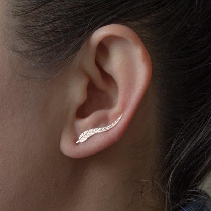 Kittenup 2Pair/lot New Fashion Leaf Stud Earringss