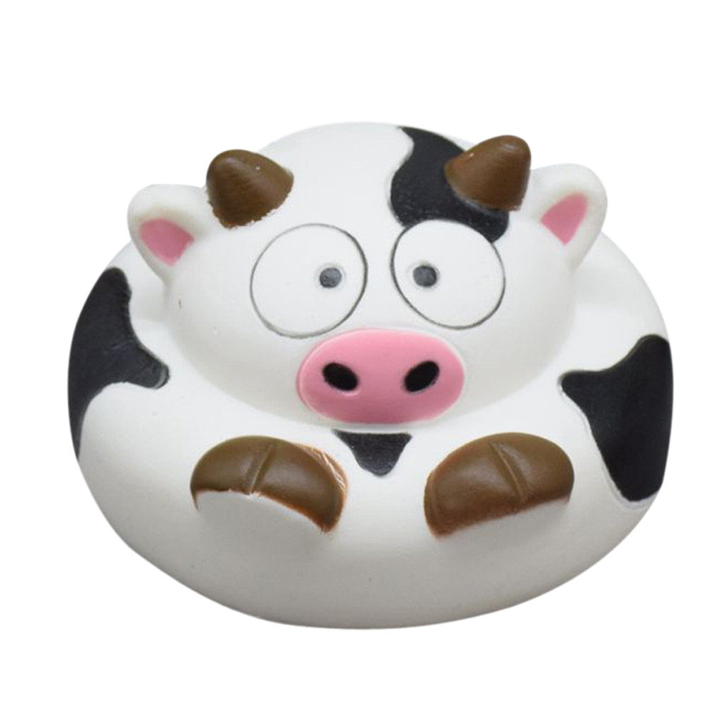 Squishies Slow Rising Jumbo Soft Cake Cartoon Cows Cute Squishy Toys Stress Reliever Antistresses 30S8110 drop shipping
