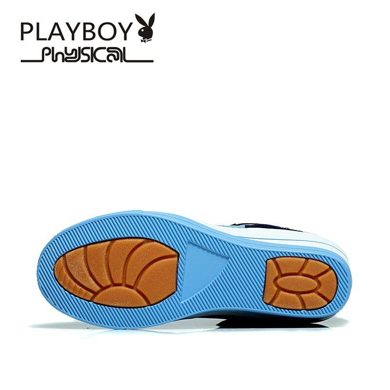 De El Botas Cuero Tamaño Cuñas Para ~ Playboy 2017 Mujeres Las Nuevas Genuino Negro 40 Invierno marrón Zapatos azul 35 Tobillo Primavera xqwg4IX