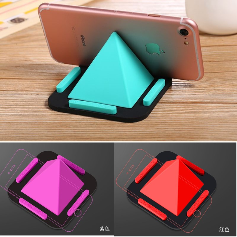 Cellphones & Telecommunications Mobile Phone Accessories Pyramid Universal Phone Holder For Iphone Samsung Phones Stands For Xiaomi Huawei Desk Support Ideal Gift For All Occasions