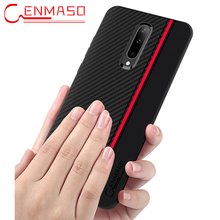 For Oneplus 7 Case Carbon Fiber Texture Leather Back Cover For Oneplus 7 7T Pro Case One plus 7 1+7 Full Protective Shockproof Case g case for iphone 7 leather skin plating tpu mobile back shell carbon fiber texture coffee