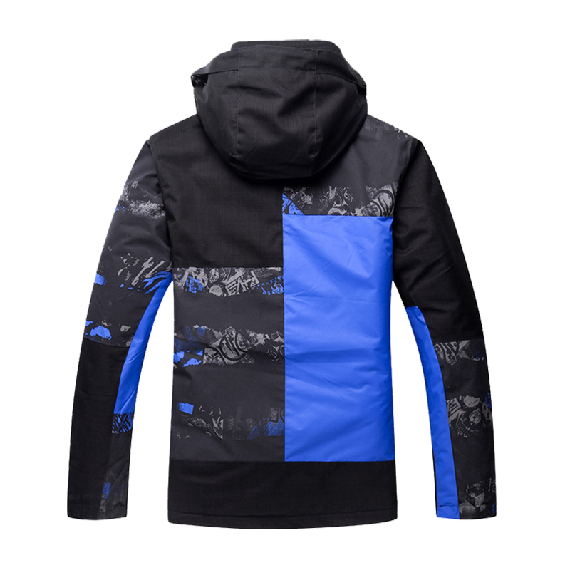 Ski Suit Men Waterproof Thermal Snowboard Fleece Jacket + Pants Male Mountain skiing and snowboarding Winter Snow Clothes Set