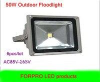 6 pcs AC85 265V 50 w LED projector branco Quente branco Frio À Prova D' Água levou luzes de inundação ao ar livre da lâmpada frete grátis|light purple|light auburn|lamp import -