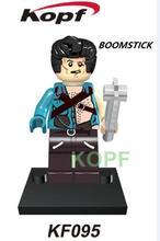 KF095 Horror Tema do Filme Boomstick Darth Nihilus Blocos de Construção Modelo de Ação Melhor Educação Tijolos DIY Brinquedos Para Presente de Crianças
