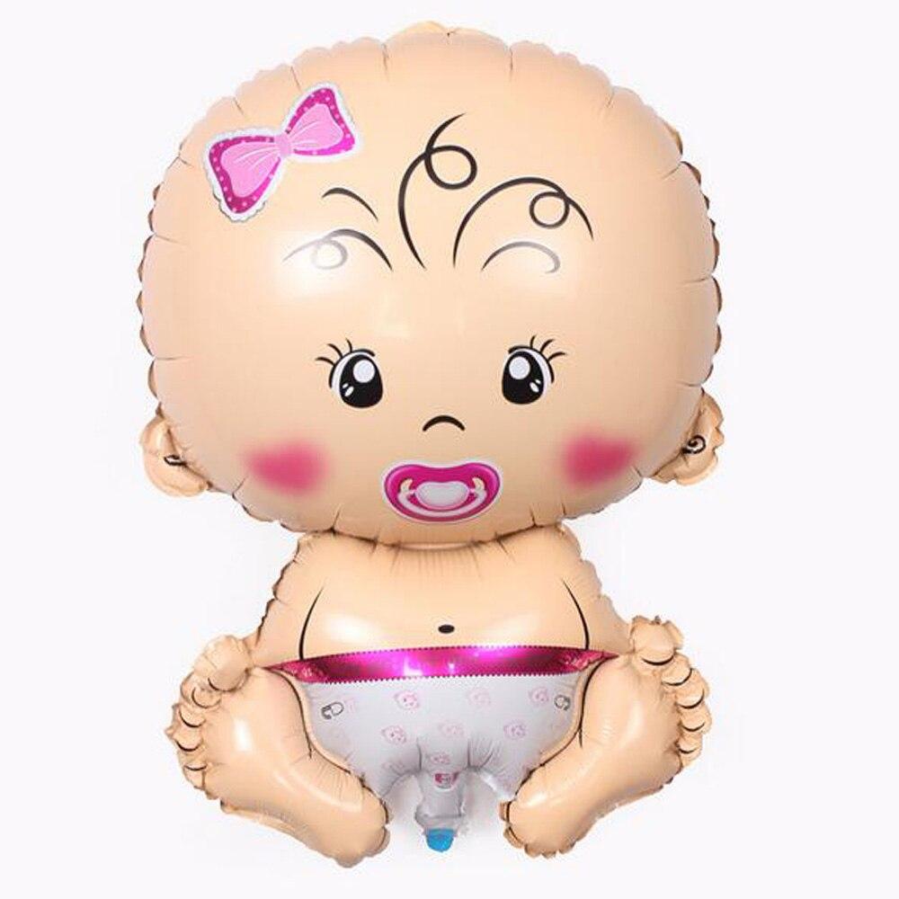 Nieuw HOT Baby Jongen Meisje Waterstof Ballon Aluminiumfolie Helium RG-06