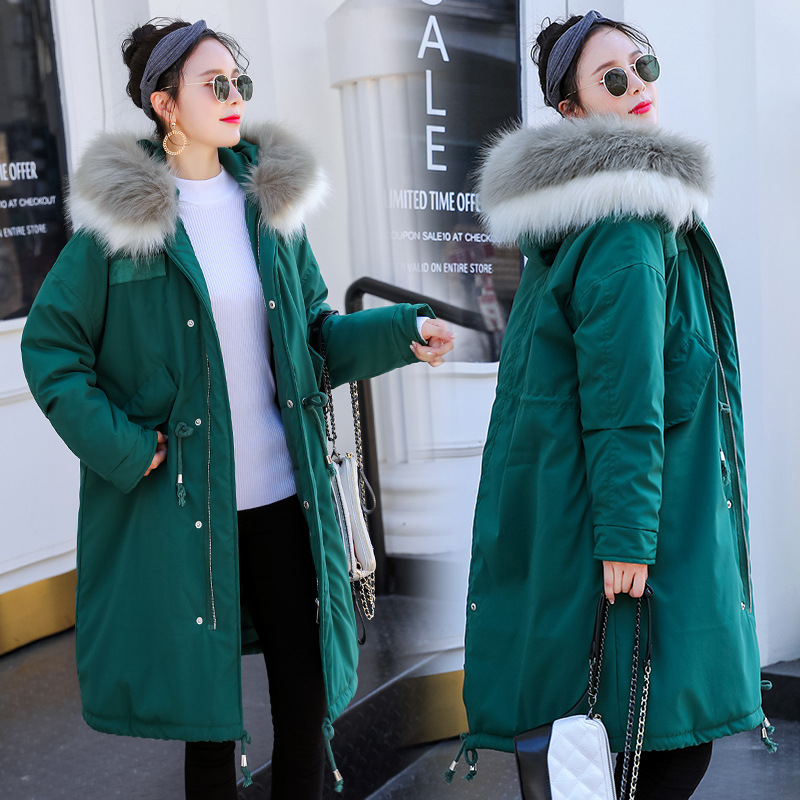 Maternity Women New Moms Fluffy Mid-long Hooded Down Cotton Cardigan Coat Fashion Lightweight Warm Puffer Outdoor Winter Jackets maternity women new moms winter long sleeve hooded down cotton cardigan coat casual fashion thicken warm puffer outdoor jackets